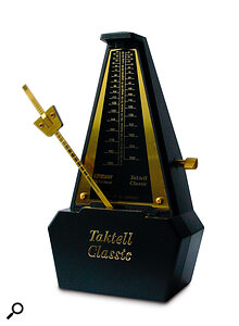 If you want to add MIDI parts later, it's best to record to a metronome click.