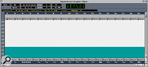 Fill Meter Hits results in Meter Hitpoints appearing in the Meter Hitpoint Strip: note the snap resolution of '1', so that a Meter Hit is only generated once every bar.