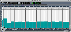 The Meter and Time Hitpoint links have been straightened up, and the Master track should now generate an accurate tempo that follows the freely‑recorded audio.