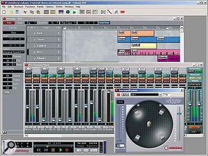 VST Channel Settings; Channel Mixer; Cubasis v3