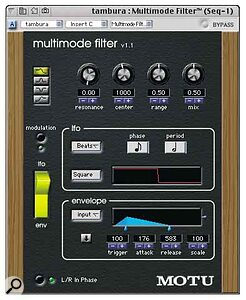 A selection of the excellent bundled plug‑ins: Multimode Filter, the Plate reverb, and Masterworks Gate.