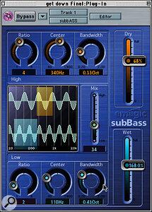 Logic Audio v5 includes 11 new audio plug‑ins.