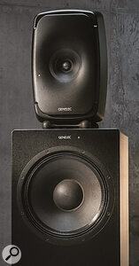 Technological innovation is driving high‑end nearfields like Genelec's The Ones and the Jones‑Scanlon Baby Reds (below) to new heights.