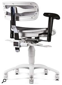 Perhaps the only chair purpose‑designed for recording studios: the Phantom Focus eChair from Carl Tatz Design.