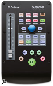 One fader, many possibilities: PreSonus's compact FaderPort can make aserious difference to your mixing workflow.