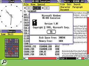 The original Microsoft Windows GUI was said to be heavily inspired by the works of Piet Mondrian.
