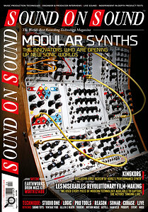 April 2013: the rebirth of modular synthesis.