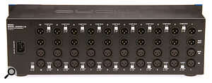 The Midas Legend L10 currently represents the keenest price per slot of any chassis, but still manages to include stereo‑linking, cascade routing and aux ins and outs.