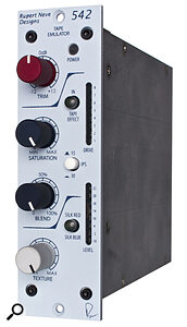 The Rupert Neve Designs 542, like the Roger Mayer 456 HD reviewed in this issue, aims to deliver the sonic characteristics of an open reel tape machine. Such devices can be great for adding character while tracking or mixing.