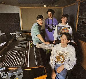808 State in Spirit Studios, Manchester