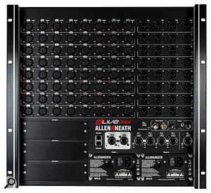For the Biffy Clyro tour, the S5000 console was paired up with a  DM64 stage rack to provide 64 mic/line inputs and 32 outputs.