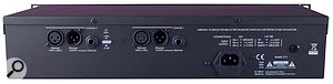 The rear panel of the MPA Pro2 sports balanced analogue inputs and outputs, and +4dBU/-10dBV switching.
