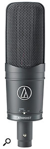 The small switch fitted at the bottom of theAT4050 ST allows you to switch between themicrophone's three different stereo configurations.