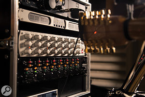 After extensive shoot-outs, SPL Gain Station preamps and SPL Madison converters, running through an RME Madiface XT, were chosen for the final recordings. Using high-end recording equipment makes a difference — but attention to detail makes a bigger difference!