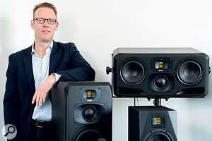 Christian Hellinger is ADAM Audio's CEO.