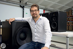 As Product Manager, Stephan Mauer is intimately involved in the design of all-new ADAM Audio products.