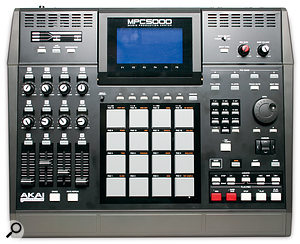With its 16 grey pads, the 5000 is instantly recognisable as an MPC — but with all the new functions it can feel as though Akai are perhaps stretching the traditional MPC interface a little too far.