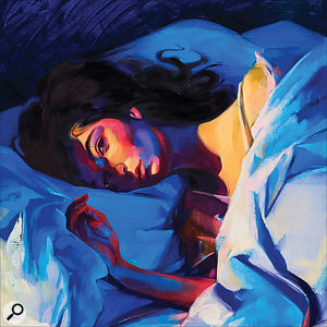 Lorde's Melodrama album cover.