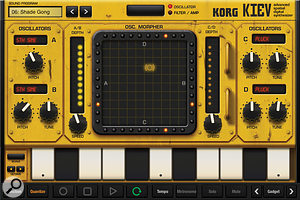 Kiev: vector synthesis Korg–style.