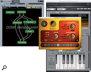 Say hello to your new best friend. Metaplugin (in conjunction with jBridgeM) currently looks to be the most reliable and cost-effective way of running 32-bit plug-ins in 64-bit DAWs like Logic Pro X. Its flexible MIDI and audio routing abilities make it hugely useful in any DAW, though. Here I'm running a bunch of languishing (or defunct) 32-bit VSTs in the 64-bit version of Presonus's Studio One 2.