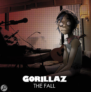 Does this mark the beginning of a trend? Gorillaz' new album, The Fall, has been produced largely using an iPad.