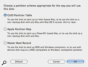 When reformatting a hard drive to MacOS Extended, you'll need to change the drive's partition scheme to 'GUID Partition Table'.