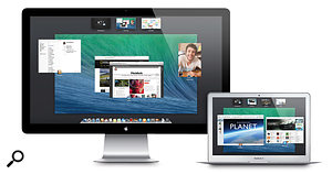 Fully featured, flexible use of multiple displays is one of the big draws of Mavericks.