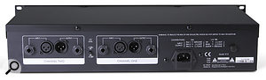 Inputs and outputs are thoughtfully presented on both jack and XLR connectors, but there's no external side-chain input.