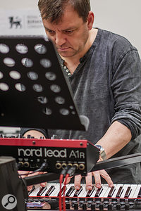 Harpsichordist Steven Devine.