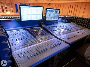 Kings Place's Digidesign D-Show console.