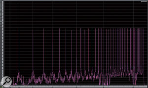 15. Even a 320kbps, CBR MP3 encoding (what some dub 'CD quality') does not approach the noise floor of the raw PCM file, even though the noise floor is clearly lower than at lower bit rates.