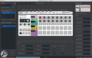 You can configure the Beatstep Pro as a  regular hardware controller loaded with DAW and MIDI commands.