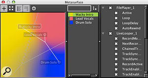 Colour mixing: the AudioMulch Metasurface.