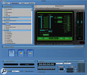 VST plug–ins can be used within AWE to process batches of files.
