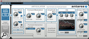 Articulator is capable of creating some interesting vocoder–style effects.