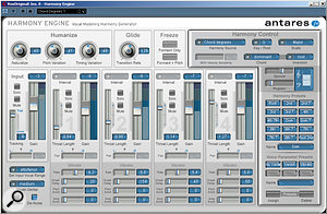 The highlight of the new plug–ins, with a  little care Harmony Engine can produce very convincing backing vocals.