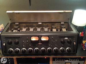 Joe Costa recorded the drum overdubs through a  '50s Collins tube mixer.