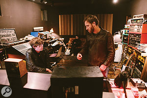 Much of the band's latest album Turn Blue was tracked at Keyclub Studio in Michigan.