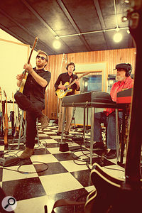 Dan Auerbach produced Dr. John's 2012 album Locked Down.