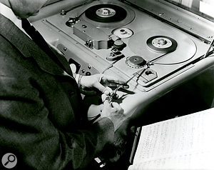 The Beatles' masters were originally recorded using the EMI 'British Tape Recorder' (top); after extensive tests, a Studer machine (bottom) was chosen for the digital transfers.