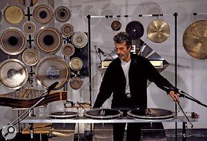 Percussion maestro Ferdinand Försch performs live in Shanghai.