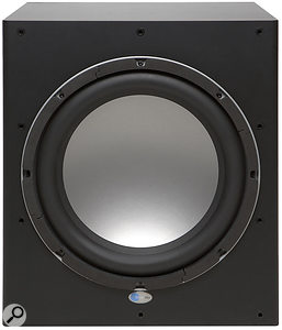 The SUB 15 subwoofer has been designed for use with the SAT 12 monitors in 2.1 and 5.1 surround setups.