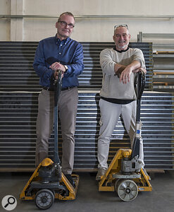 Boxy inventor Claudio Lamberini (right) and General Manager Lorenz Koch.
