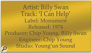 Classic Tracks: Billy Swan 'I Can Help'