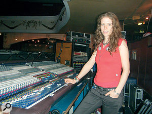 Like many engineers, Bryony started mixing shows on analogue desks, before moving to digital in the early '00s.