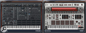 The new Retrologue and PadShop VST synths.