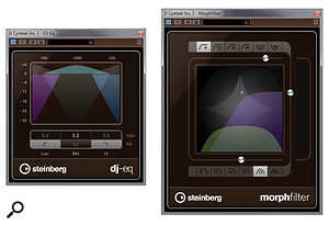 Also new are the DJ EQ and Morph Filter plug-ins.