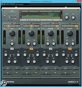 Quadrafuzz makes a  return to Cubase in version 8.