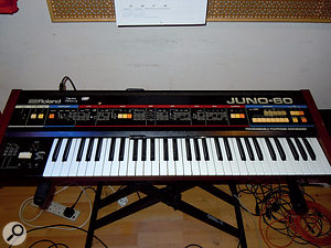 Alt-J's distinctive array of home keyboards was augmented in places by a more conventional Roland Juno 60 polysynth.