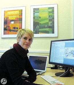 Rachel van Besouw of the University of Southampton's Interactive Music Awareness Programme.